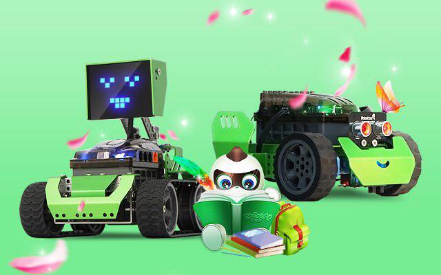 Steam robot robobloq