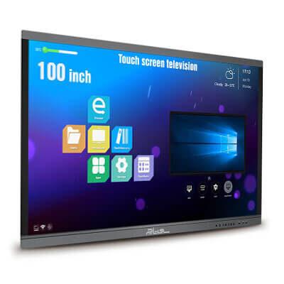 تلویزیون لمسی تاچ اسکرین 100 اینچ
