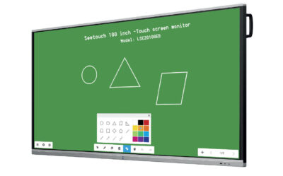 100 inch touchscreen monitor