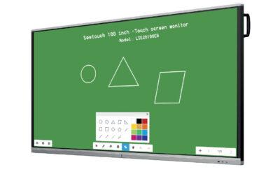 100 inch touchscreen monitor