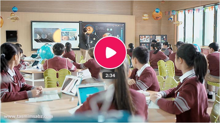 Smart school classroom video