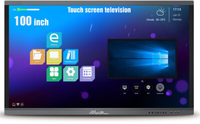 Touch screen televisions 100 inch